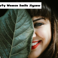 Beauty Women Smile Jigsaw