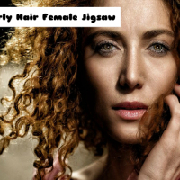 Curly Hair Female Jigsaw
