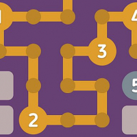 Number Maze Puzzle Game