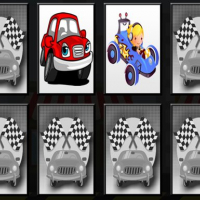 Racing Cars - Memory Game