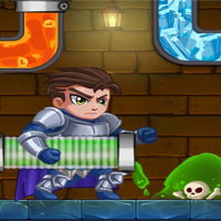 Hero Plante Rescue: Water Puzzle
