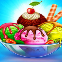 Ice Cream Maker: Food Cooking