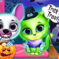Scary Makeover Halloween Pet Salon